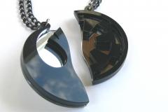Star-Wars-Rebels-Empire-best-friends-necklaces-Laser-cut-mirror-black-plastic-3