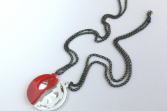 Star-Wars-Rebels-Empire-best-friends-necklaces-Laser-cut-mirror-red-white-plastic-1