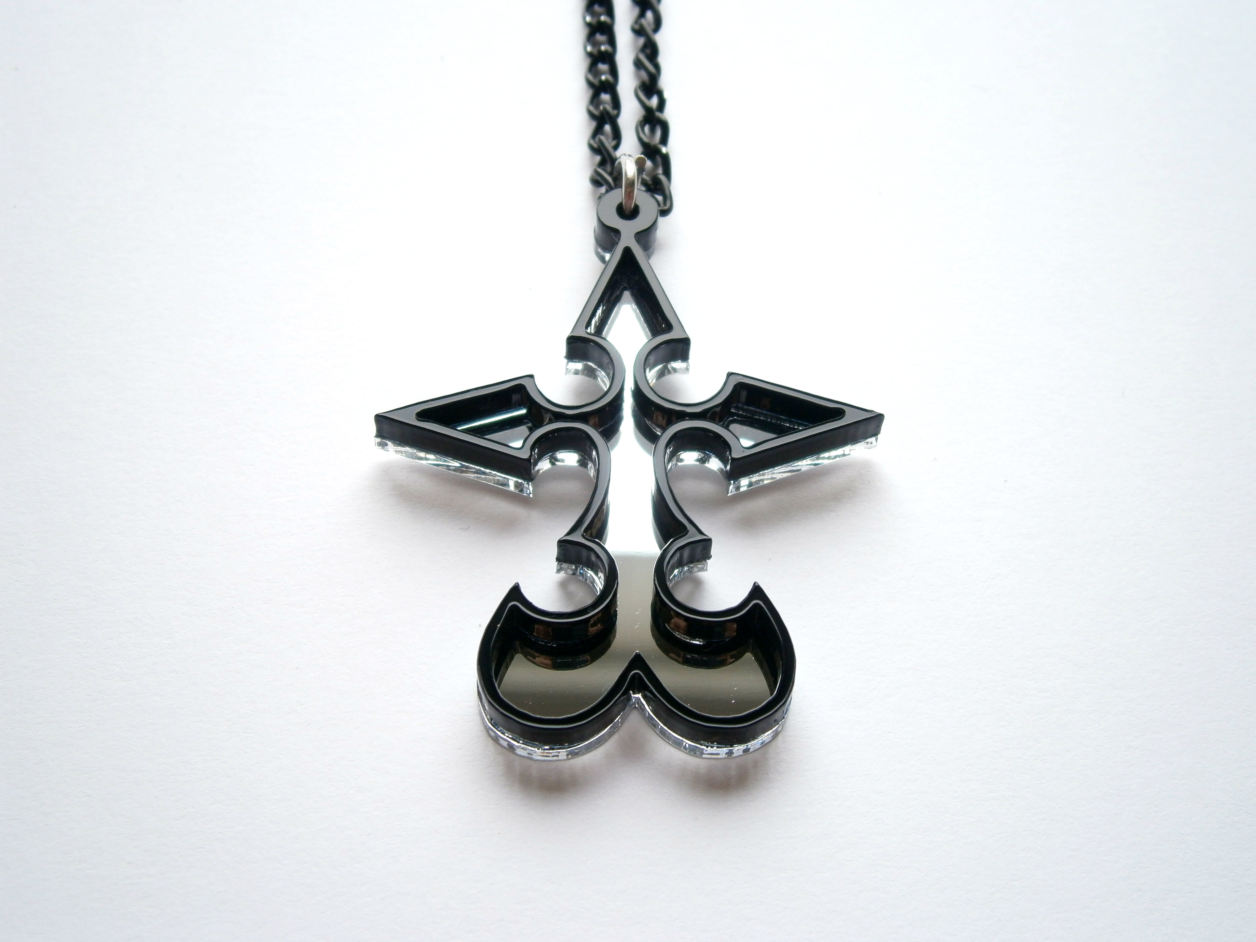 Kingdom Hearts Nobody Emblem Pendant Necklace Inspiring