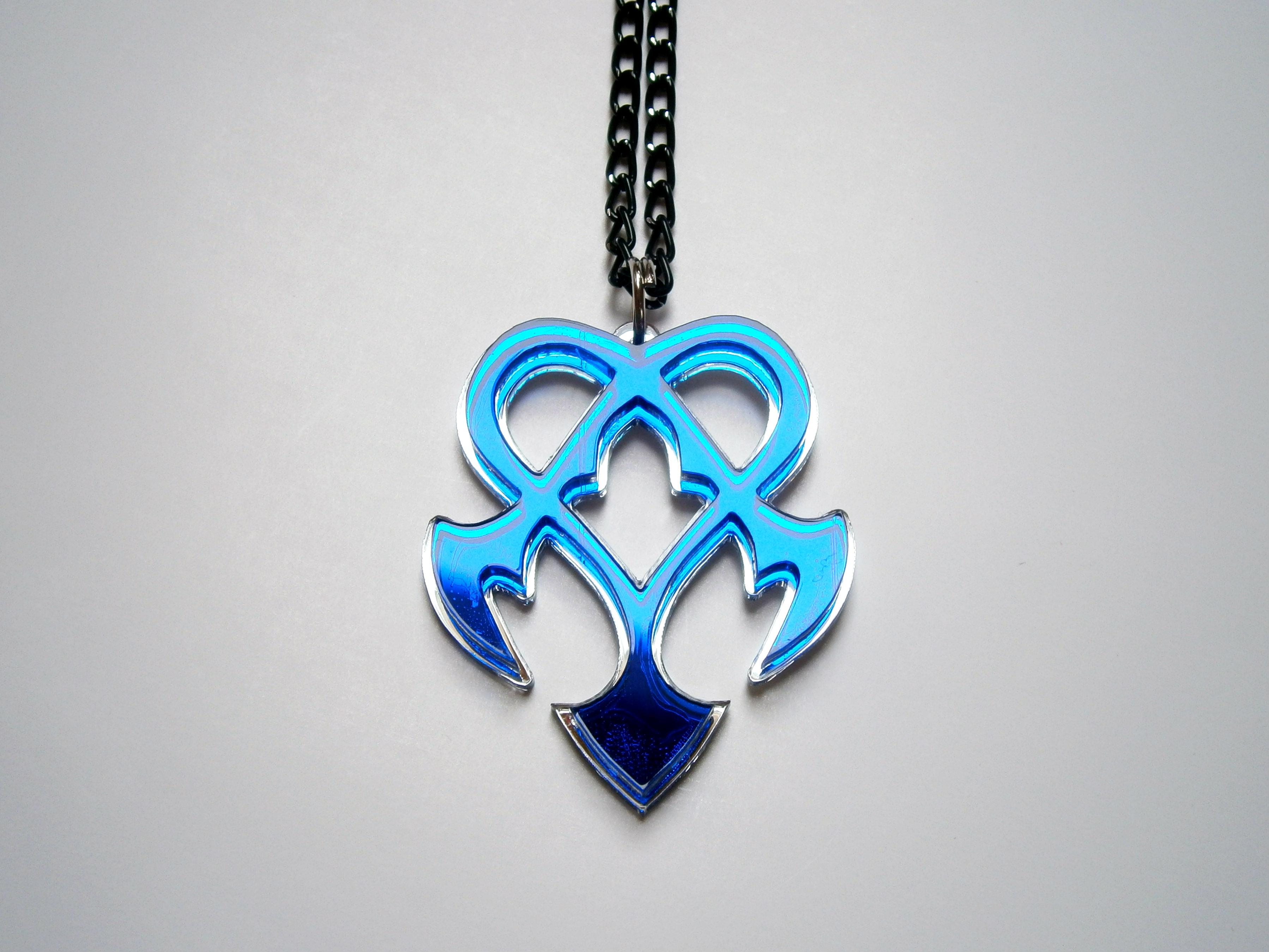 kingdom hearts nightmarependant necklace inspiring jewelry