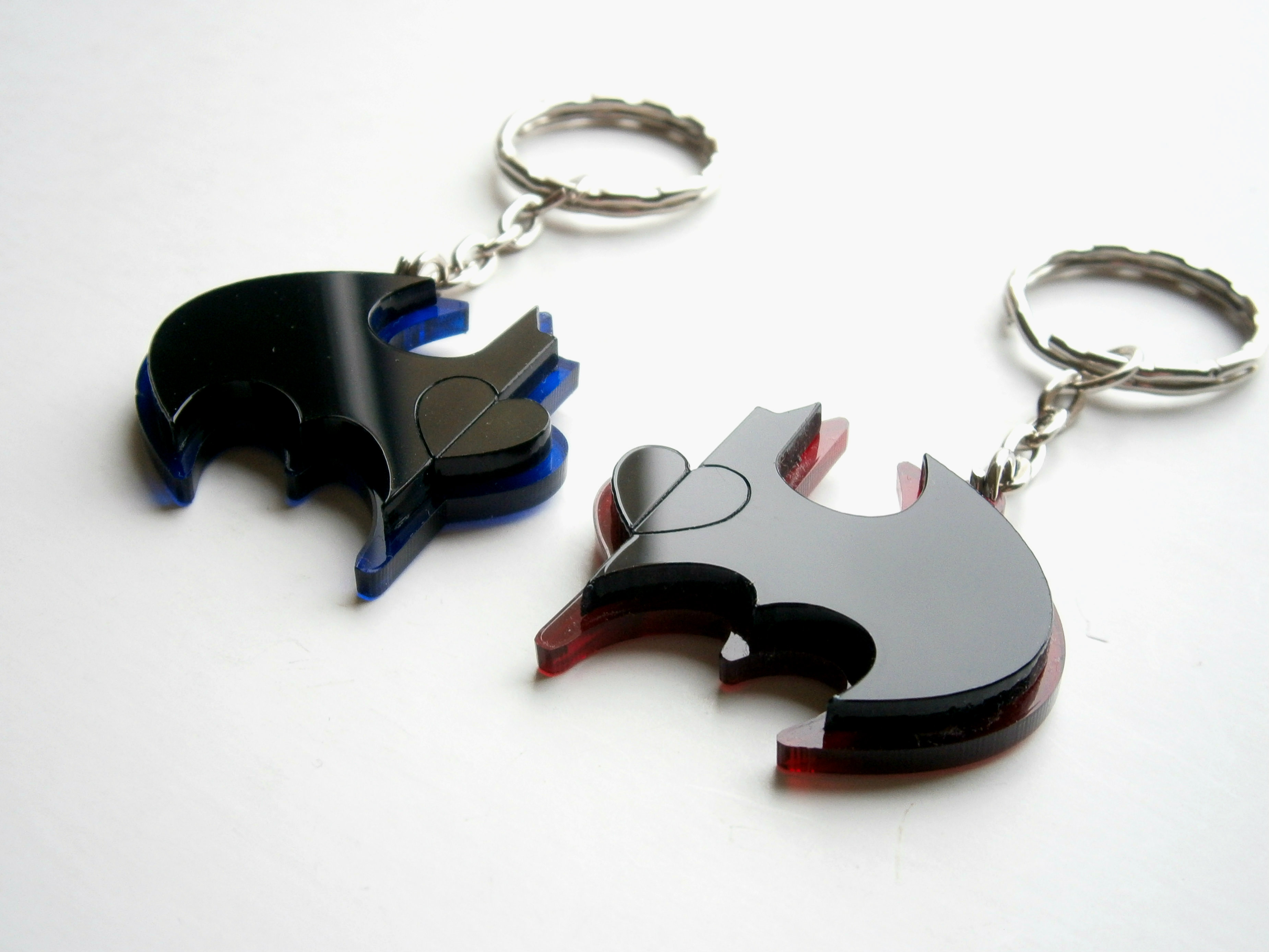 Best Friends Batman Keychains