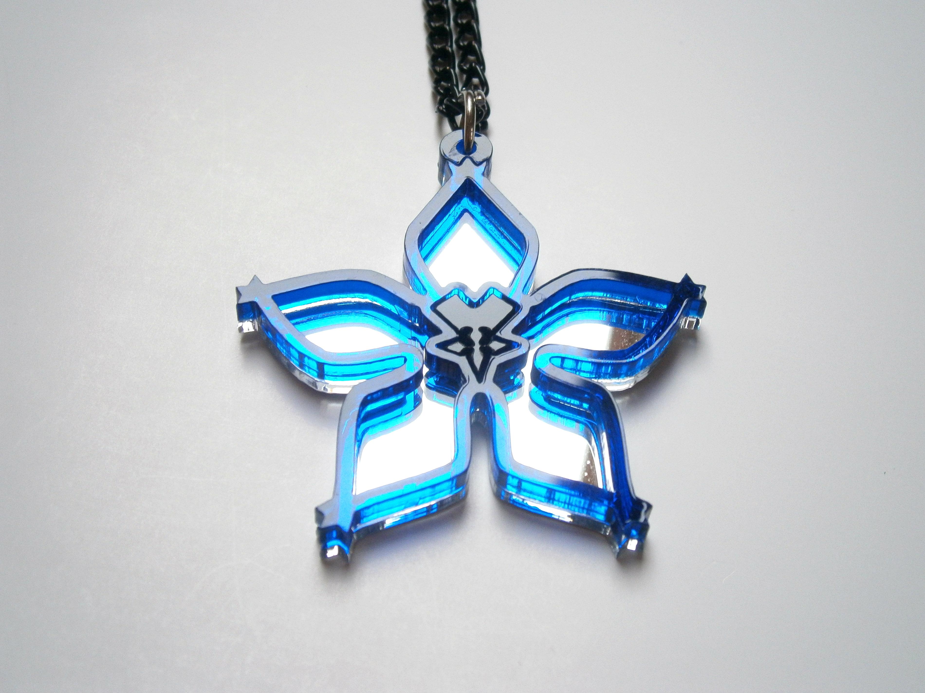 Wayfinder Necklace Kingdom Hearts Birth by Sleep Wayfinder