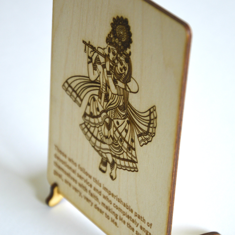 Radharani Krishna Postcard