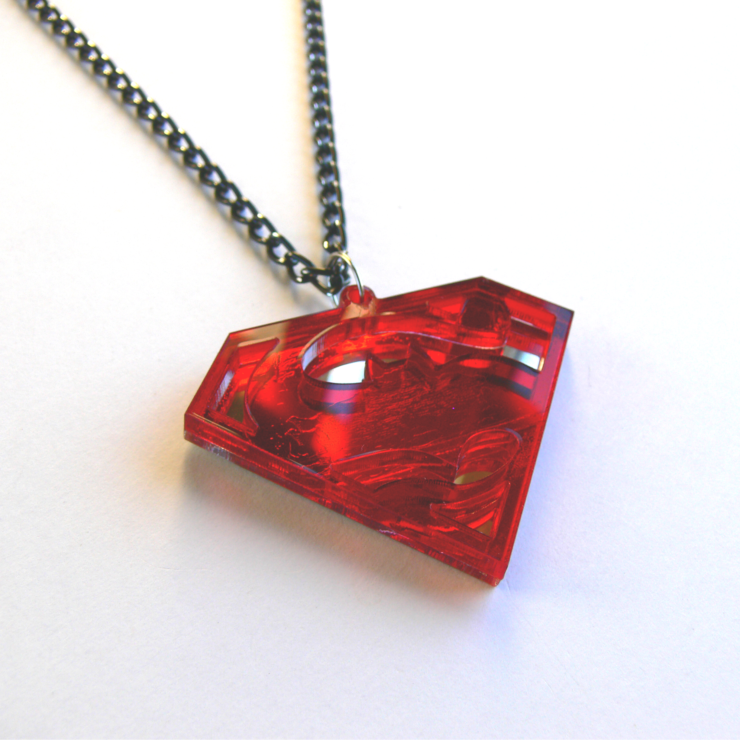 plastic laser transformers face from red mirror blue two and prev product cut pendant necklace