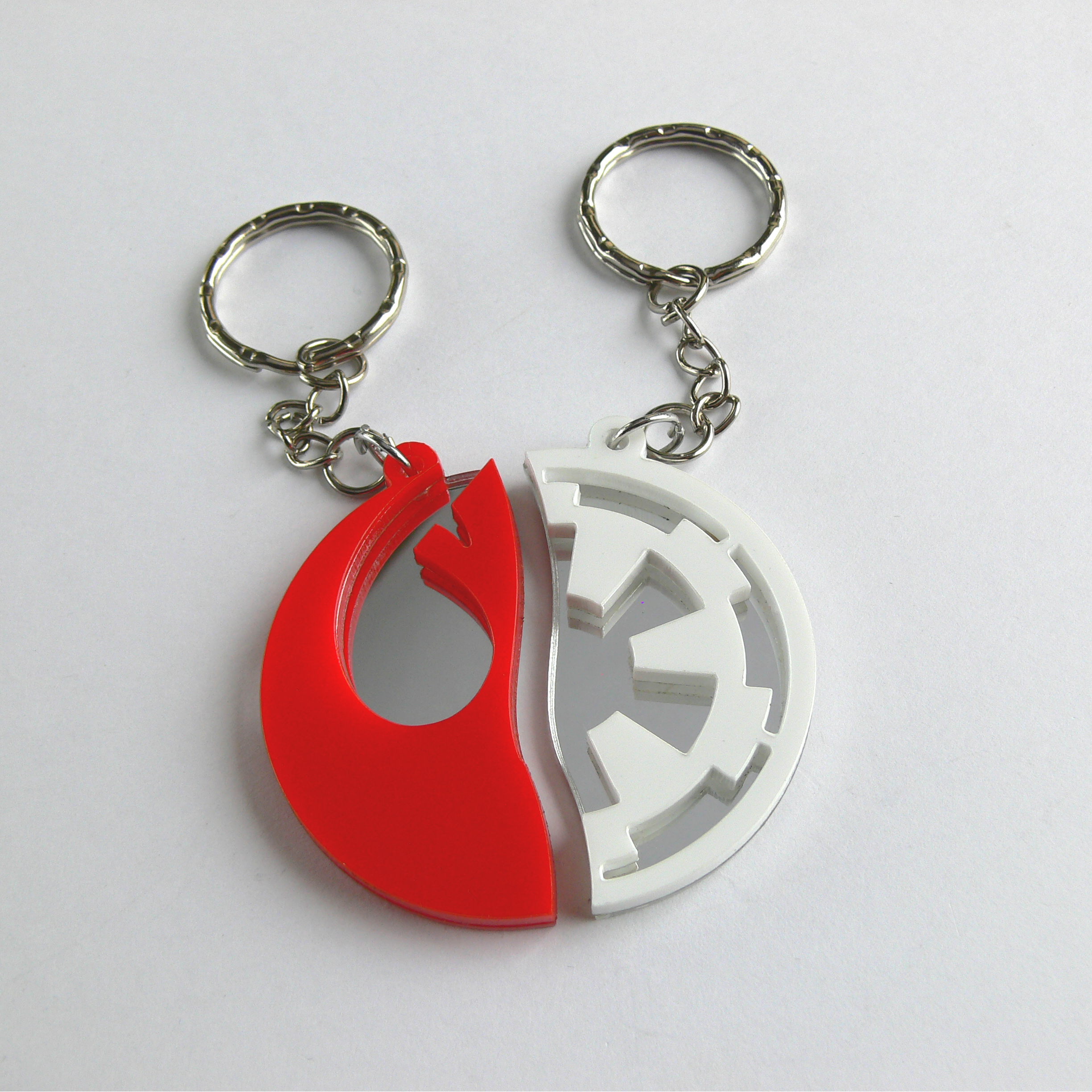Stormtrooper Cufflinks Engraved And Lasercut Star Wars